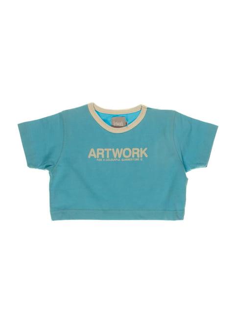 Топ цвета морской волны ARTWORK 3168389