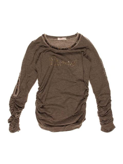 Туніка коричневий в смужку ColaBear 2913324