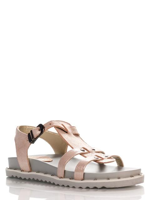 Сандалии светло-розовые Franzini 4262649