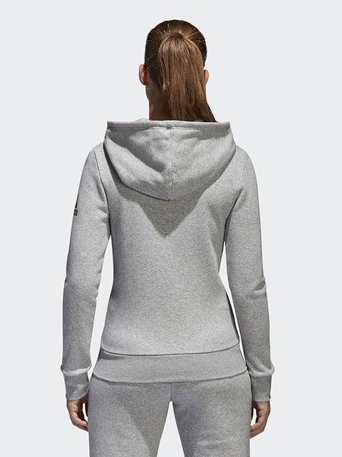 Толстовка серая Adidas 4242260