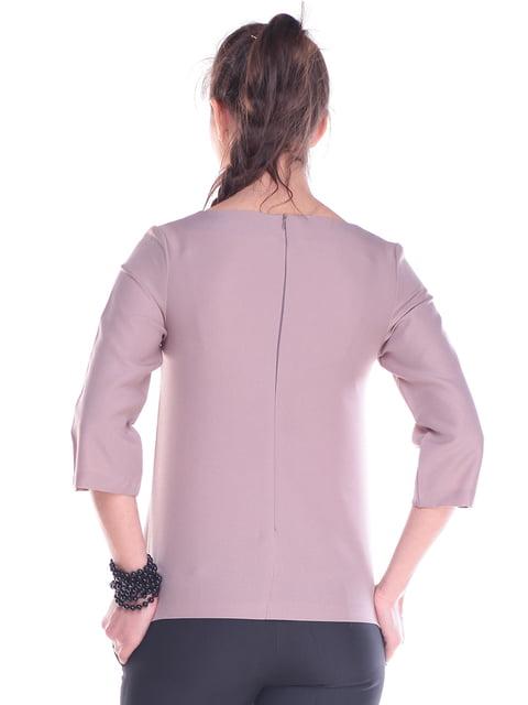 Блуза цвета мокко Laura Bettini 4271238