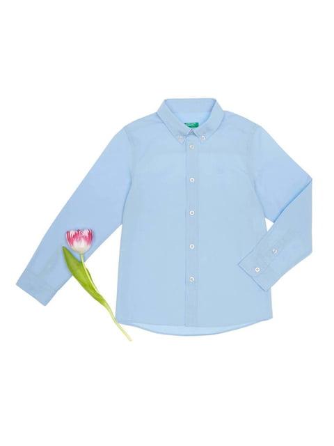 Сорочка блакитна Benetton 3928574