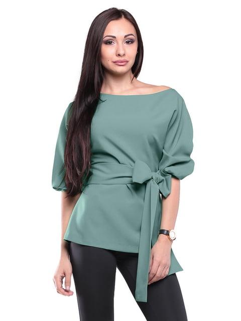 Блуза оливкового цвета Laura Bettini 2170360