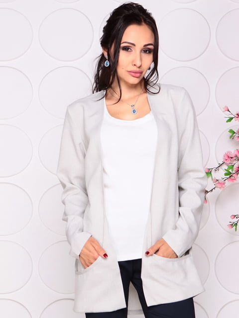 Кардиган сірий Laura Bettini 4279668