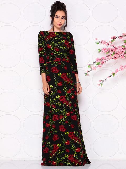 Сукня в квітковий принт Laura Bettini 4279673