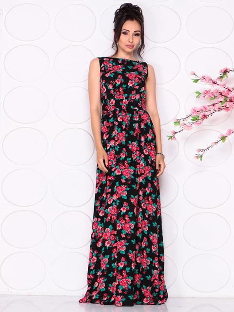 Сукня в квітковий принт Laura Bettini 4279683