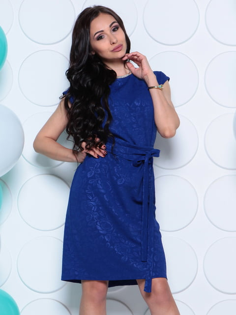 Сукня кольору електрик Laura Bettini 4279724