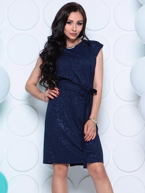 Сукня темно-синя Laura Bettini 4279726