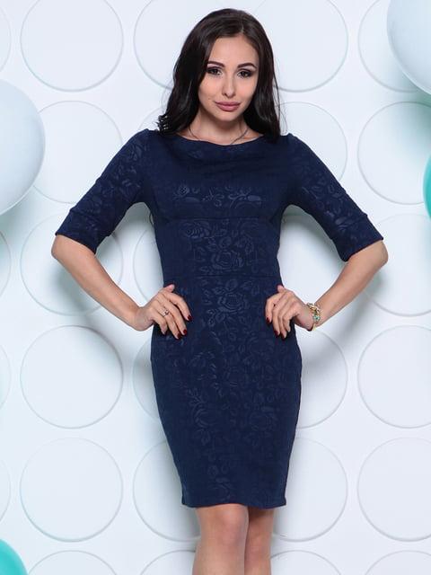 Сукня темно-синя Laura Bettini 4279731