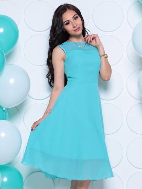 Платье светло-ментолового цвета Laura Bettini 4286929