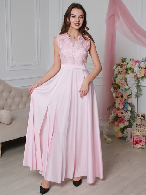 Платье розовое VSV 4287028