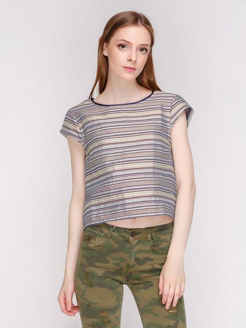 Блуза в полоску Zara 2773558
