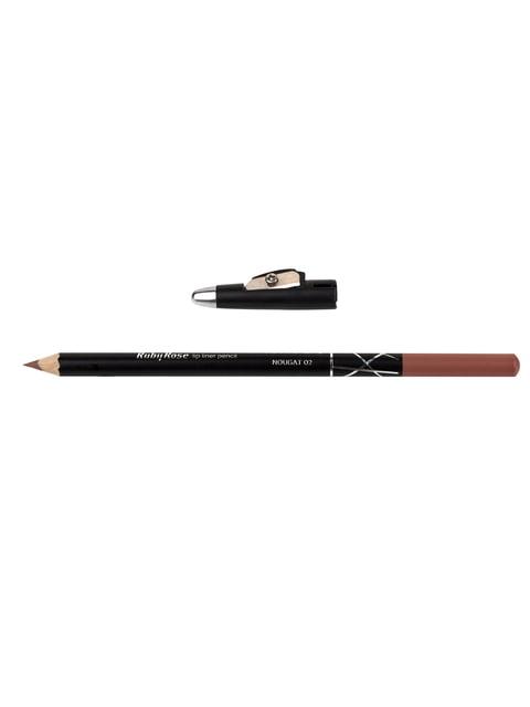 Олівець для губ Sweet Lips з підстругачкою - № 02 Nougat RUBY ROSE 4287416