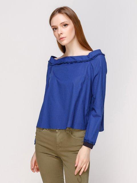 Блуза синяя Zara 3267783