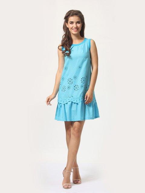 Платье голубое AGATA WEBERS 4290432