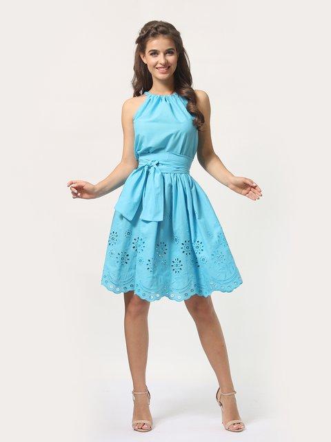 Платье-сарафан голубое AGATA WEBERS 4290458
