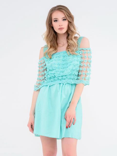 Платье мятного цвета Magnet 4271967