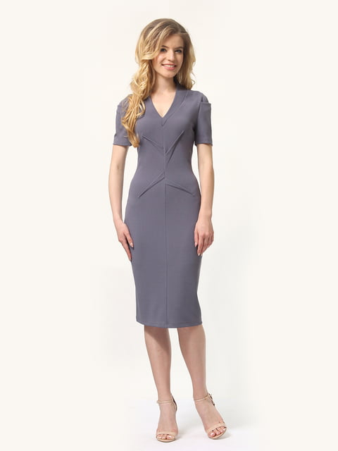 Платье графитового цвета Lada Lucci 4301904