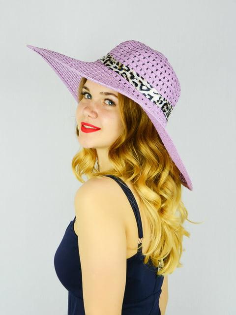 Шляпа сиреневая Fashion Look 4305084