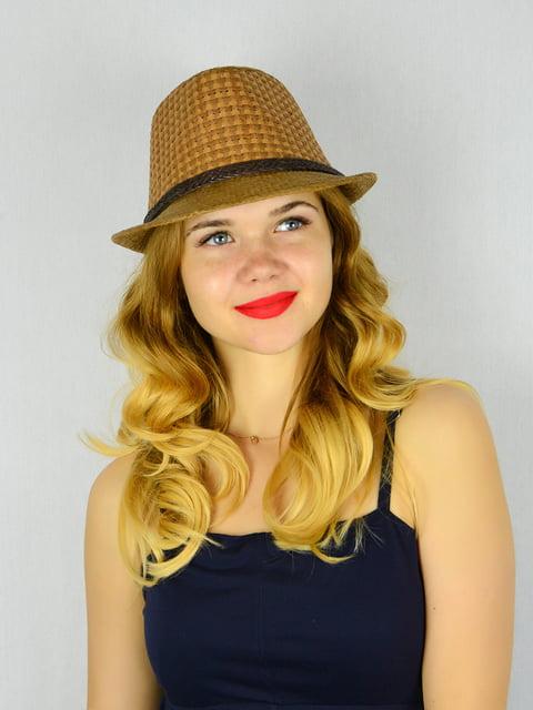 Шляпа коричневая Fashion Look 4305092