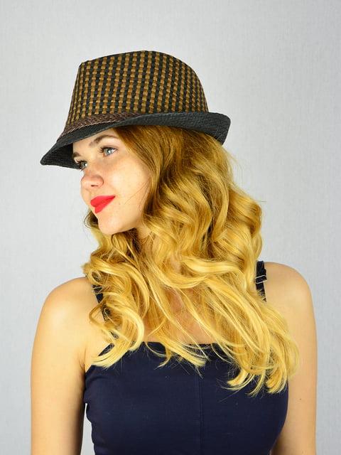 Шляпа черная Fashion Look 4305093