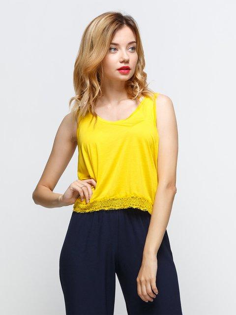 Майка жовта Zara 3268766