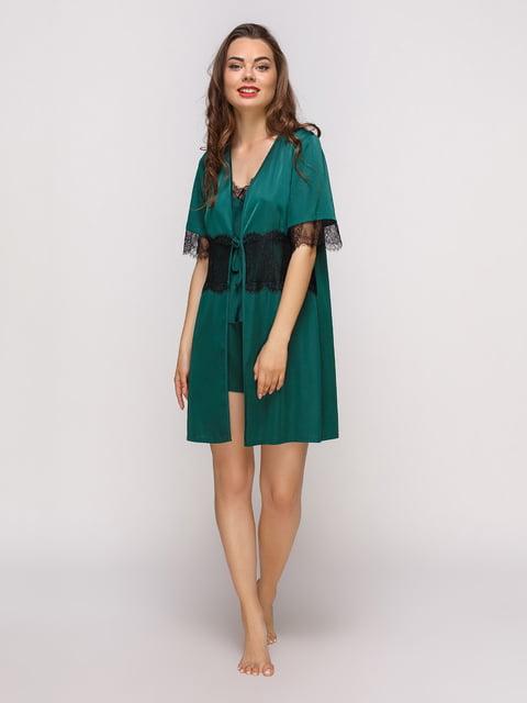 Халат смарагдового кольору Lapin 4300568