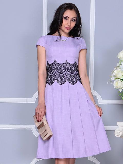 Платье светло-фиалковое Laura Bettini 4297682