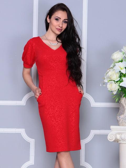 Платье красное Laura Bettini 4297718