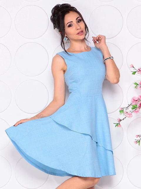 Сукня блакитна Laura Bettini 4297721