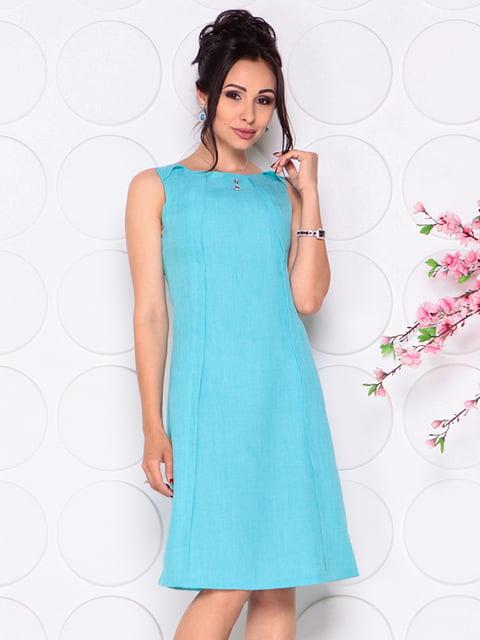 Сукня світло-бірюзова Laura Bettini 4297724