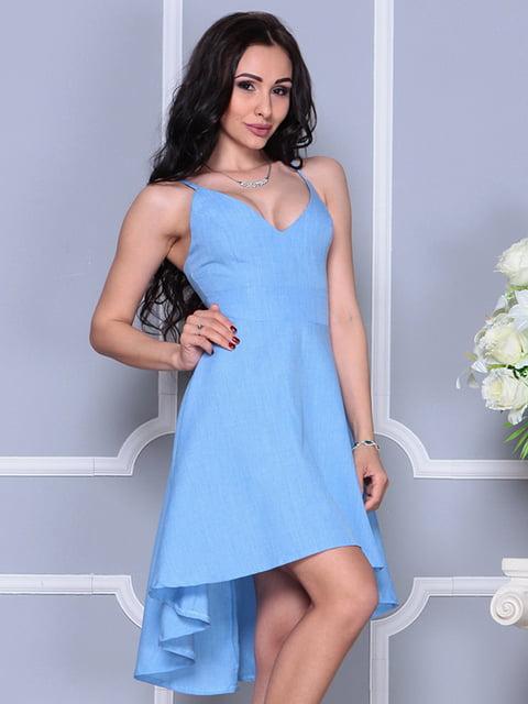 Платье голубое Laura Bettini 4297736