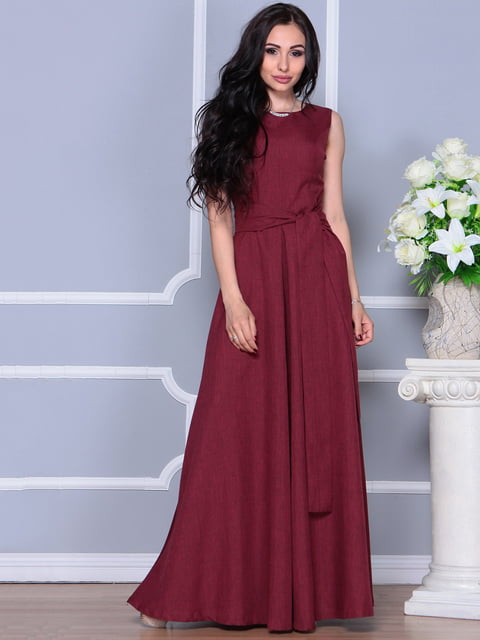 Платье светло-сливовое Maurini 4297745