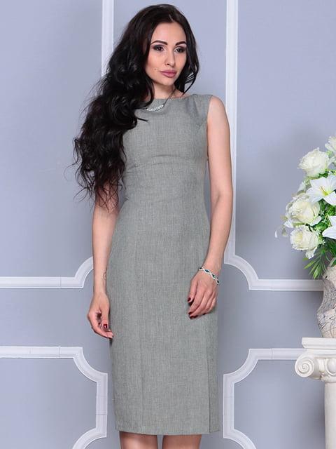 Платье темно-оливковое Rebecca Tatti 4297749