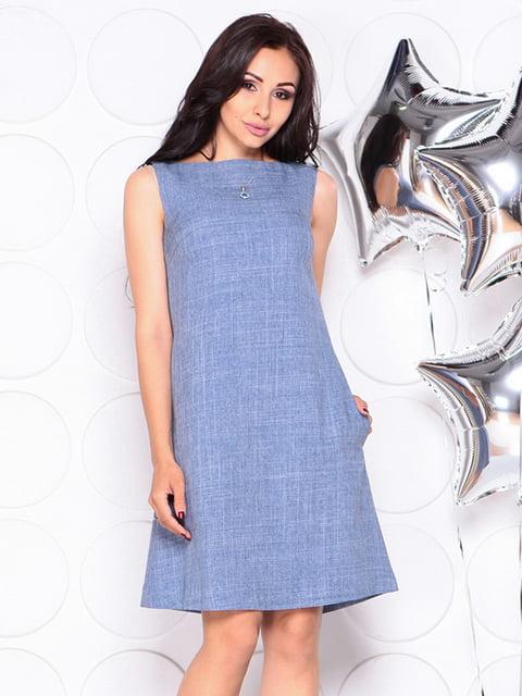 Платье-сарафан цвета джинса Laura Bettini 4311702