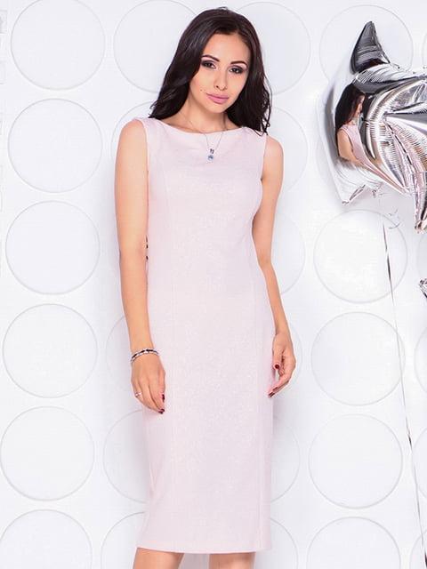 Платье бежевое Laura Bettini 4311723
