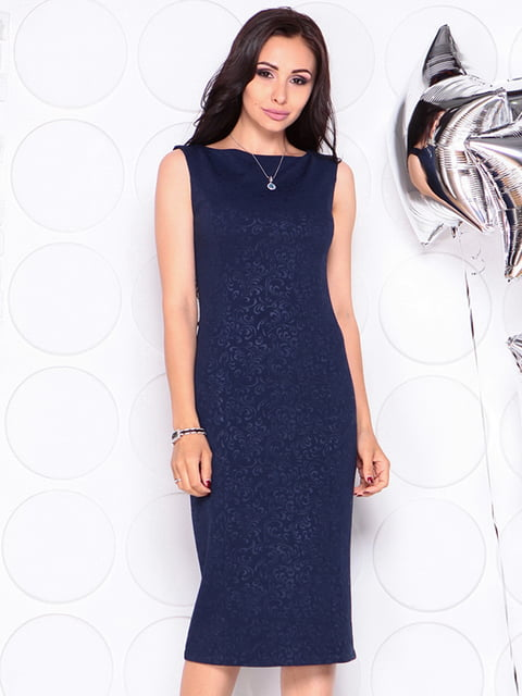 Платье темно-синее Laura Bettini 4311725