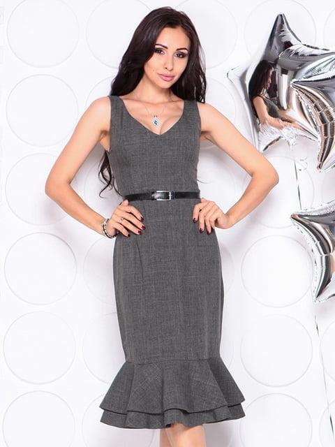 Сукня графітового кольору Laura Bettini 4311729