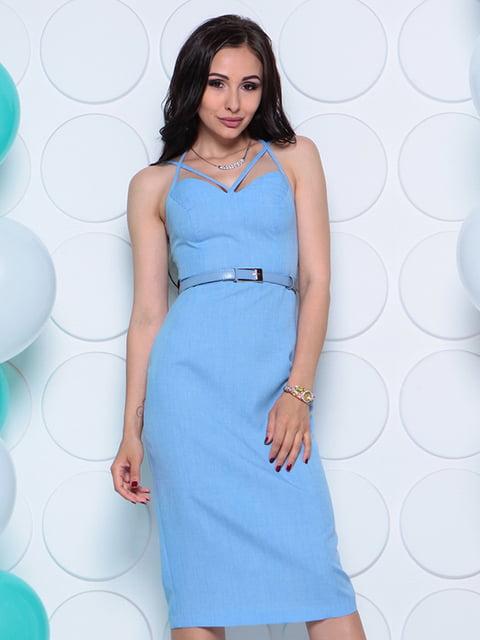 Сукня блакитна Laura Bettini 4311739