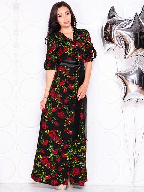 Платье в цветочный принт Laura Bettini 4314687