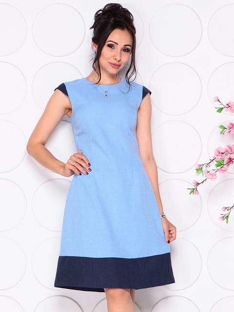Платье голубое Laura Bettini 4314712