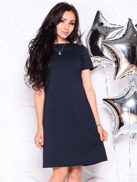 Сукня темно-синя Laura Bettini 4314716