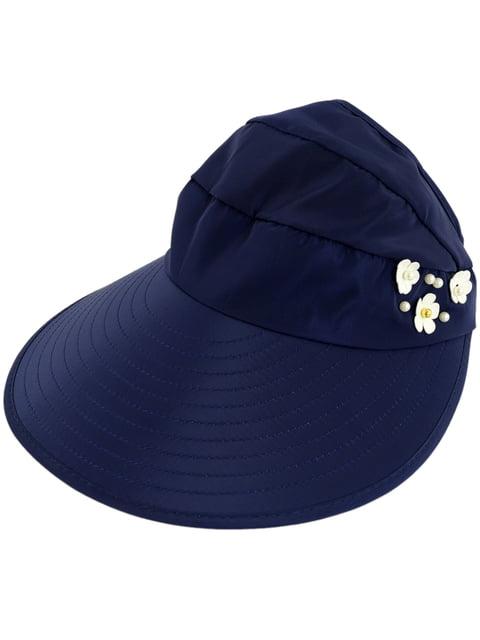 Шляпа темно-синяя Traum 4315589