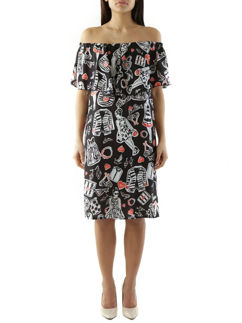 Сукня чорна Cristina Gavioli 4321543