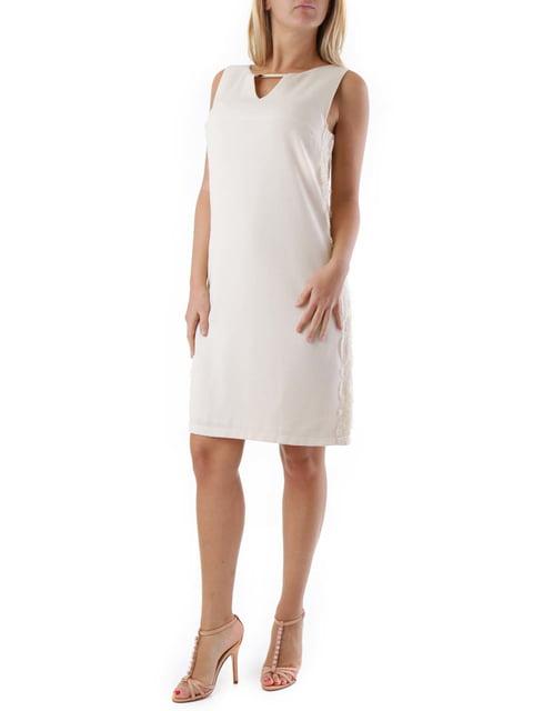 Сукня молочного кольору Cristina Gavioli 4320634