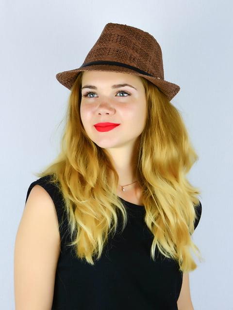Шляпа коричневая Fashion Look 4326402