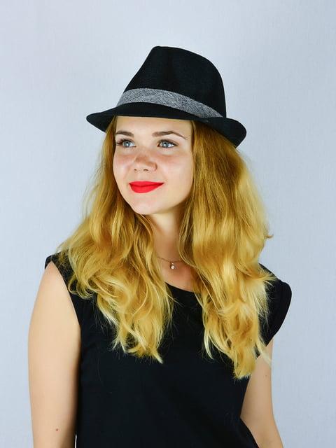 Шляпа черная Fashion Look 4326409