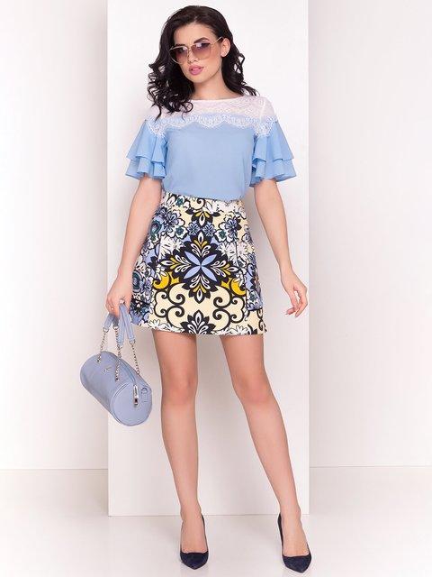 Блуза блакитна Modus 4220657