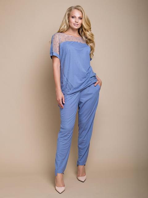 Костюм: блуза и брюки Luzana 4327740