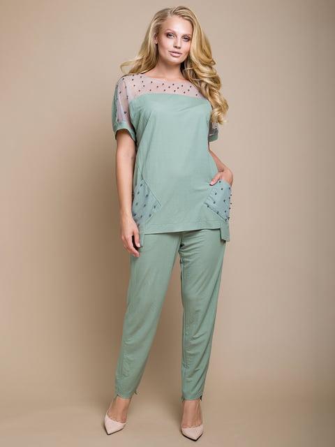 Костюм: блуза и брюки Luzana 4327741